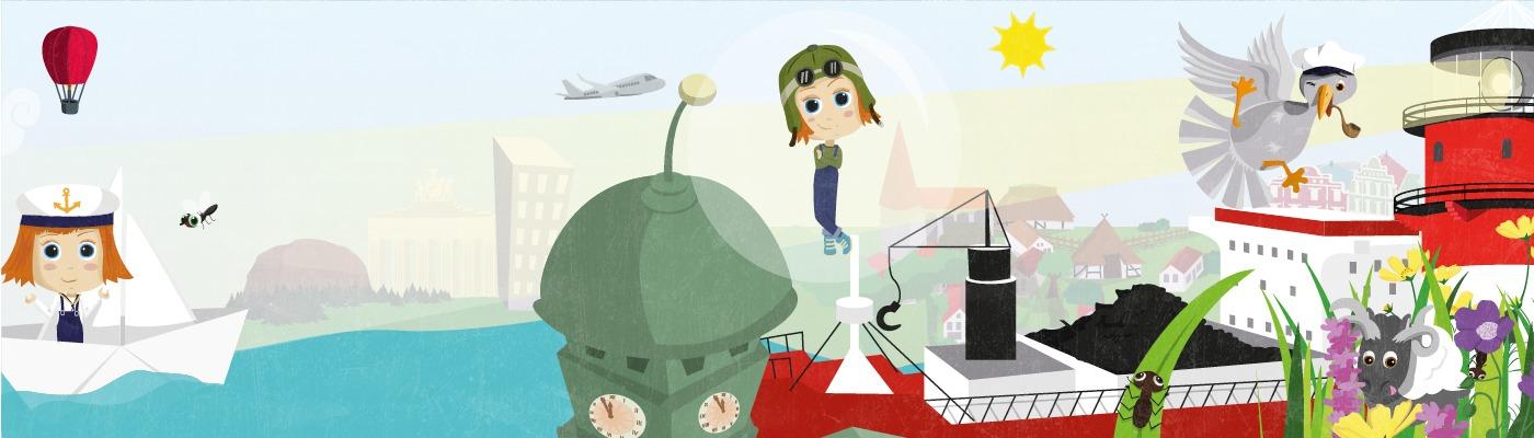 Titelbild-Pinipa1-Eine phantastische Deutschlandreise als Seifenblasenpilotin und Papierschiffmatrosin