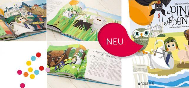 NEU: Pinipa Band 2, Eine himmlische Pfannkuchensuche durch Europa