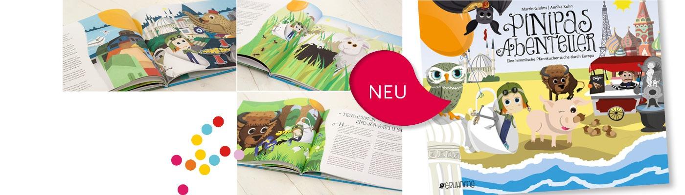 NEU: Pinipas  Abenteuer Band 2