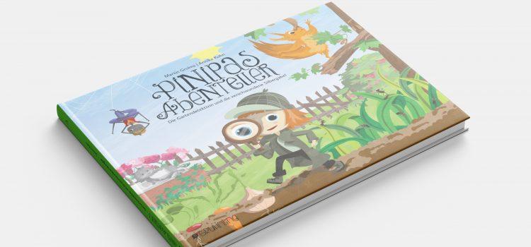 Pinipas Abenteuer 3 – Die Gartendetektivin und die verschwundene Silbergabel